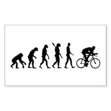 Evolution cycling bike Decal