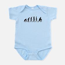 Evolution dancing tango Infant Bodysuit