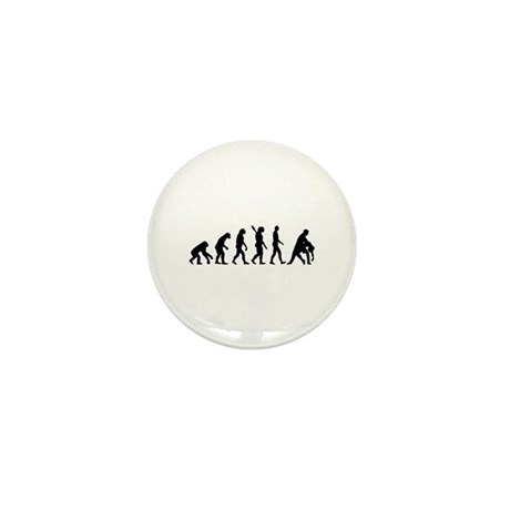 Evolution dancing tango Mini Button