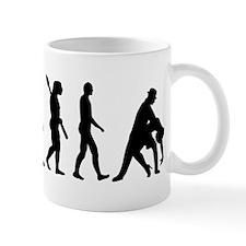 Evolution dancing tango Mug