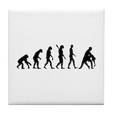 Evolution dancing tango Tile Coaster