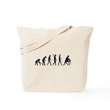 Evolution dancing tango Tote Bag