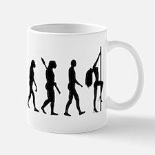 Evolution sexy woman Mug