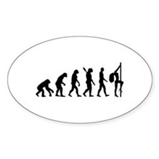 Evolution sexy woman Decal