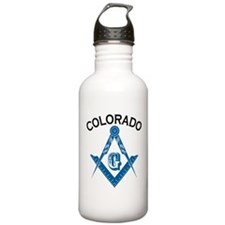 Colorado Freemason Water Bottle
