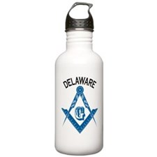 Delaware Freemason Water Bottle