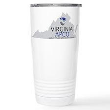 Virginia APCO Logo Travel Mug
