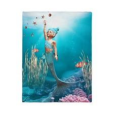 Cute Mermaid 1 Twin Duvet