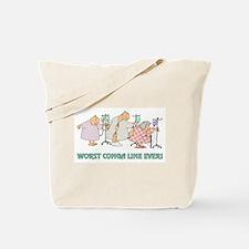 WORST CONGA LINE Tote Bag