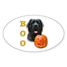 Halloween Mastiff Boo #5 Oval Decal