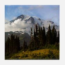 Mt. Rainier #3 Tile Coaster