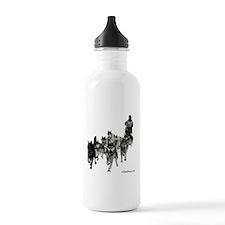 Cute Siberian husky Water Bottle