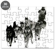 Cute Siberian husky Puzzle