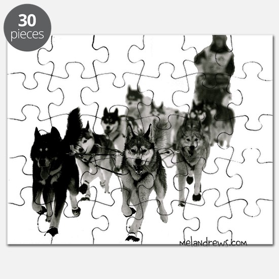 Cute Sled dogs Puzzle