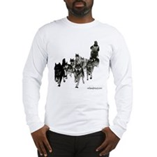 Cute Sled dogs Long Sleeve T-Shirt