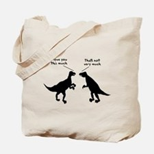T Rex I Love You This Much Tote Bag