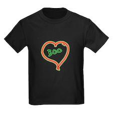 i love boo heart T