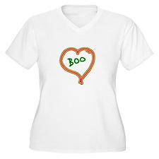 i love boo heart T-Shirt