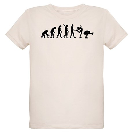 Evolution Figure skating Organic Kids T-Shirt