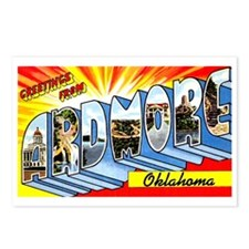 Ardmore Oklahoma Greetings Postcards (Package of 8