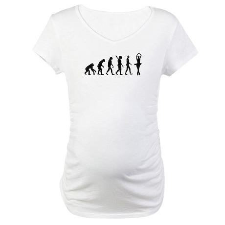 Evolution Figure skating Maternity T-Shirt