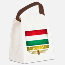 Hungary (Flag 10).png Canvas Lunch Bag