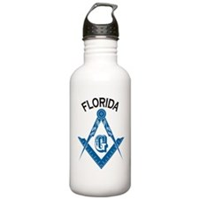 Florida Freemason Water Bottle