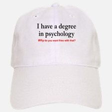 I have a degree In psychology. Fries with that? Ca