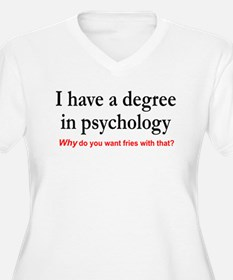 I have a degree In psychology. Fries with that? Wo
