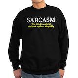 Sarcasm Sweatshirt (dark)