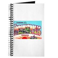 Indianapolis Indiana Greetings Journal