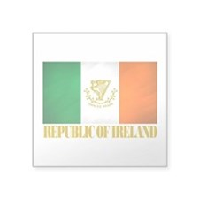 Republic of Ireland Flag (erin).png Square Sticker