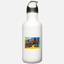 Indianapolis Indiana Greetings Water Bottle