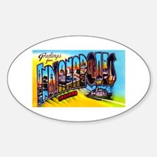 Indianapolis Indiana Greetings Decal