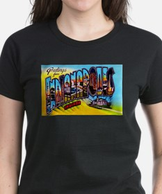 Indianapolis Indiana Greetings Tee
