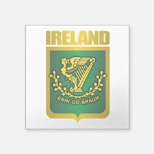 "Irish Steel (Shirt).png Square Sticker 3"" x 3"""