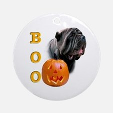Halloween Neo Boo Ornament (Round)