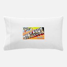 Muskegon Michigan Greetings Pillow Case