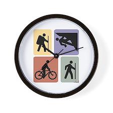 Multi Sport Guys: Wall Clock