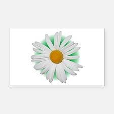 Daisy Rectangle Car Magnet
