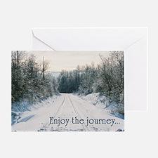 Enjoy the Journey Greeting Card