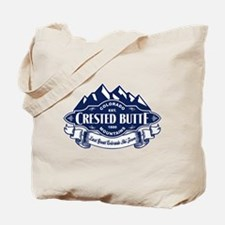 Crested Butte Mountain Emblem Tote Bag