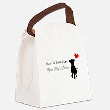 Best Pit Orn Canvas Lunch Bag
