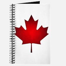 Maple Leaf Grunge Journal