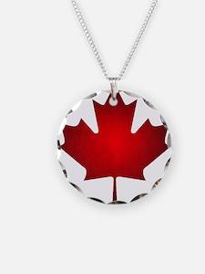 Maple Leaf Grunge Necklace