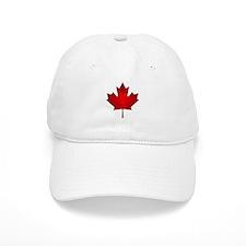Maple Leaf Grunge Baseball Cap