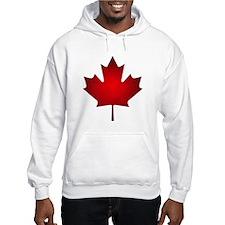 Maple Leaf Grunge Hoodie