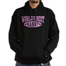 World's Best Nanny Hoodie