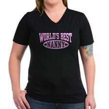 World's Best Nanny Shirt