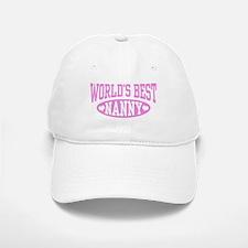 World's Best Nanny Baseball Baseball Cap